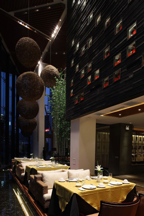 Yuwan Restaurant in Shenyang, China - Restaurants And Coffee Shops With Beautiful Interior Design