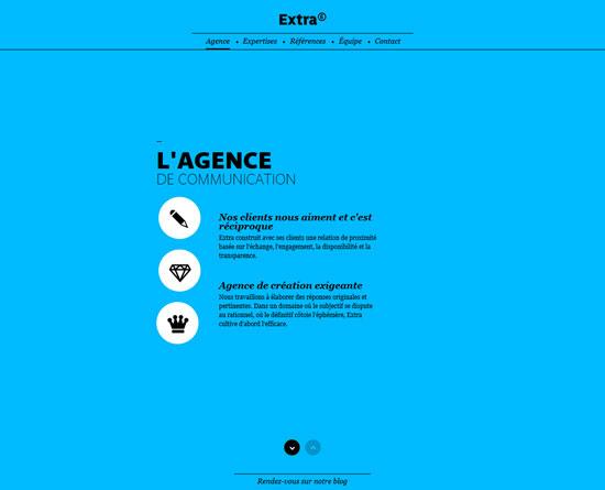 extralagence.com Site Design