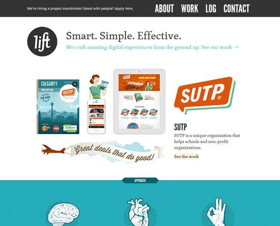 liftinteractive.comSite Design