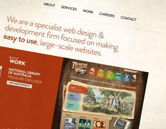 oxideinteractive.com.au Site Design