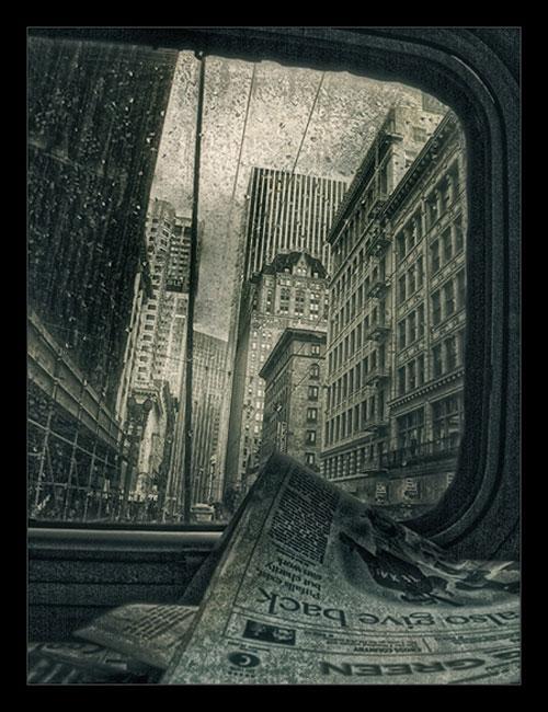 Dostoevsky's San Francisco urban photography