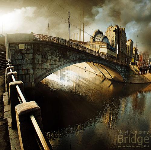 Malyi Kamenny Bridge Moscow urban photography