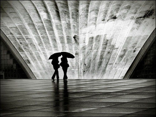 Paris III: La Pluie urban photography