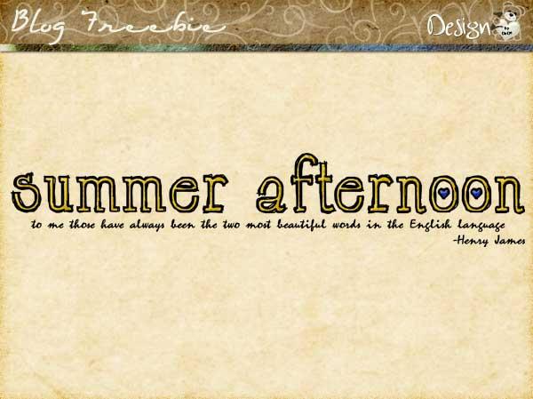 dedesmith_summerafternoon