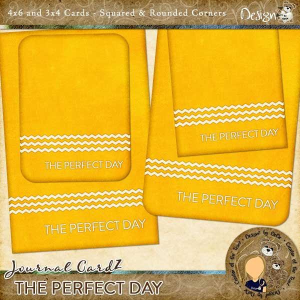 Journal CardZ - The Perfect Day by DesignZ by DeDe