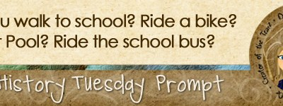 Journal prompt: Did you walk to school? Ride a bike? Carpool? Ride the school bus?