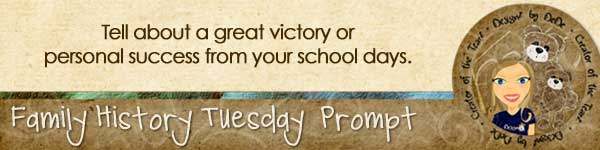 Journal prompt: Tell about a great victory or personal success from your school days.