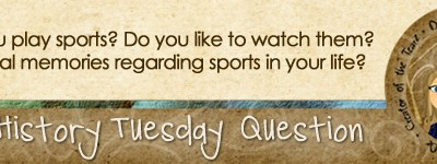 Journal Prompt: Do/Did you play sports?