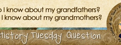 Journal Prompt: What do I know about my grandparents?