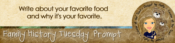 Journal Prompt: Write about your favorite food and why it's your favorite.