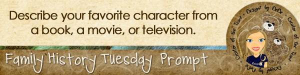 Journal prompt: Describe your favorite character