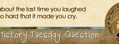 Journal Prompt: Tell about the last time you laughed so hard that it made you cry.