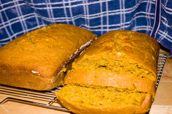 Recipe Thursday | Pumpkin Zucchini Bread