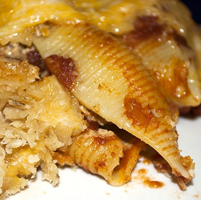 Stuffed Taco Shells by DeDe Smith