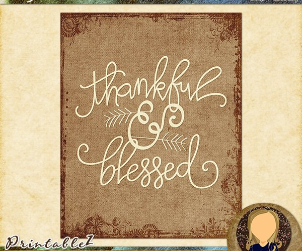 Thursday ThoughtZ | Thankful & Blessed