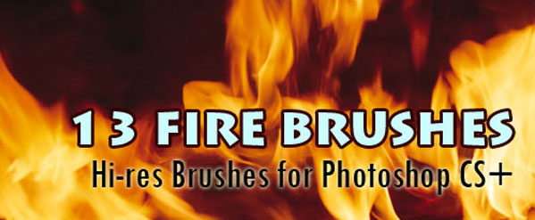 fire brushes pack photoshop