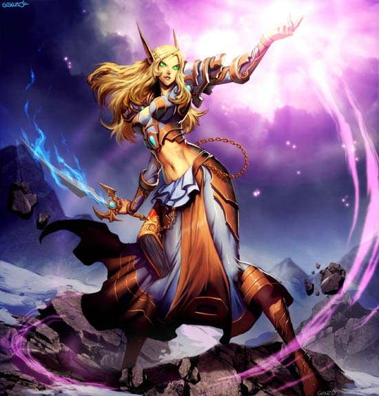 female warrior photo imagination