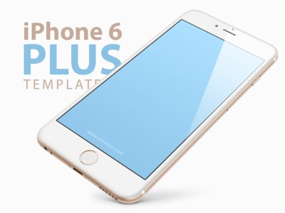 Free iPhone 6 PLUS, 5.5-inch Templates