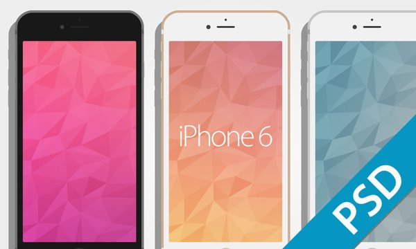 iPhone 6 Mockups by David Lillo