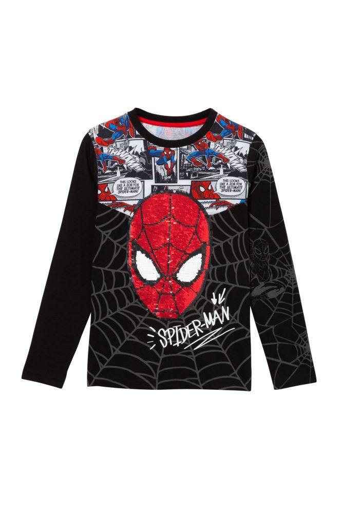 Maglietta Spider-Man paillettes