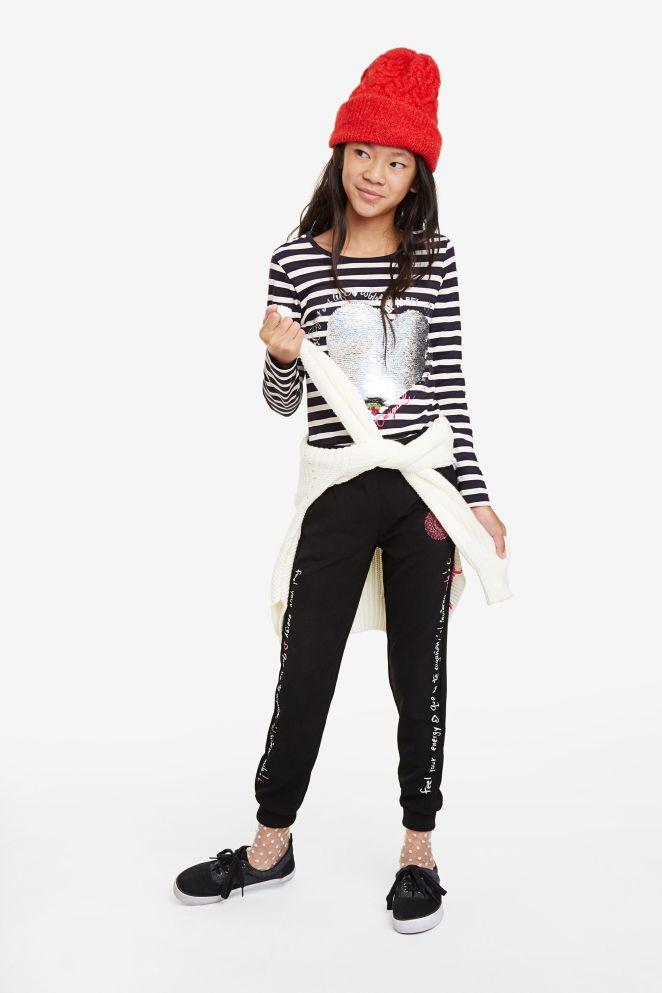 Pantaloni della tuta con elastico alla caviglia