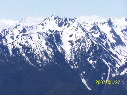 [ Hurricane Ridge, a view of the Olympic Mountains 1 ]