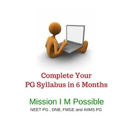 Complete Your PG Syllabus in 6 Months Medico Apps Onlin Test Series