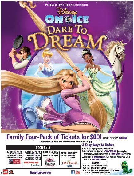 disney on ice, MOM discount, disney, family events