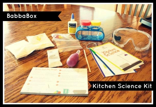 babbabox kitchen science kit