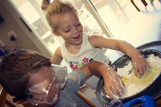 making magic mud