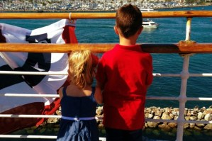 4th of July Aboard The Queen Mary – Wordless Wednesday