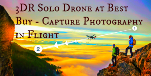 3D Robotics Solo Drone at Best Buy – Capture Photography in Flight #SoloatBestBuy