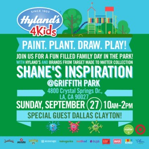 Join the fun! Hylands 4 Kids Paint Plant Draw Play Event in Los Angeles!