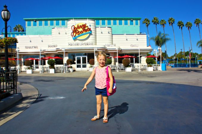 Johnny Rockets at Knotts Berry Farm