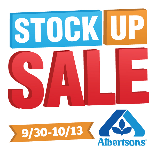 Stock Up Sale At Albertsons!