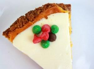 Comfort & Joy Pumpkin Spice Cheesecake Recipe