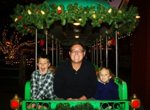 A Magical Ride Aboard the Irvine Park Railroad Christmas Train