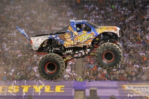 MONSTER TRUCK ACTION IS COMING: 2016 Monster Jam at Angels Stadium in Anaheim!
