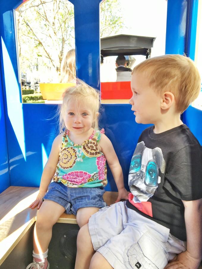 Victoria Garden's Children's Train