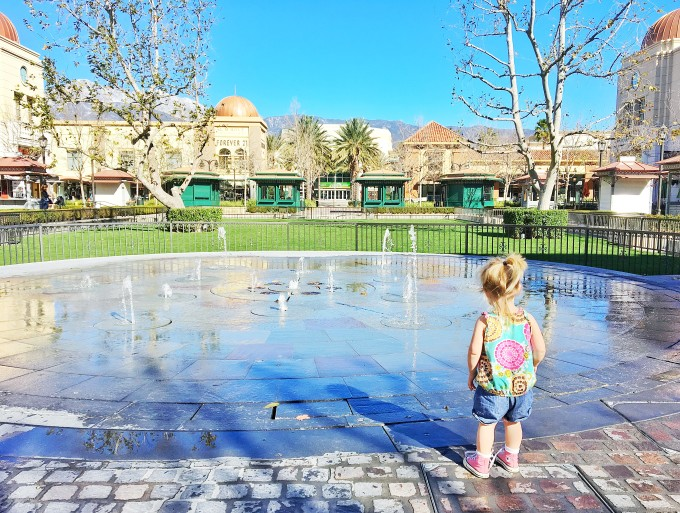 Victoria Gardens Splash Pad