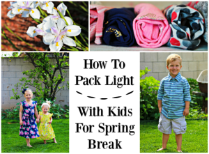 How To Pack Light With Kids For Spring Break and OshKosh B'Gosh Giveaway! #BreakForSpring #OshKoshKids