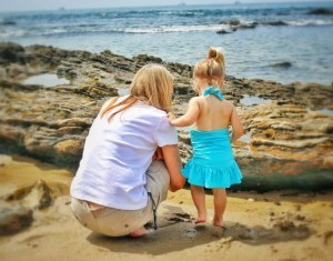 Tidepoolin' with Grandma – Wordless Wednesday