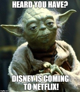 Heard you Have? Disney Movies are Coming to Netflix! #StreamTeam