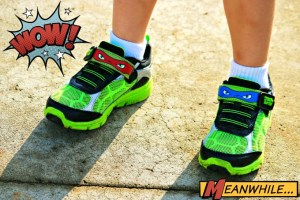 Totally Tubular Teenage Mutant Ninja Turtles Stride Rite Shoes!