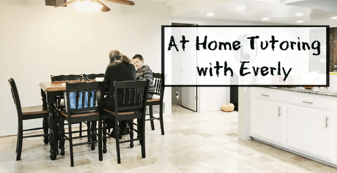 One-On-One Tutoring at Home with Everly, the Uber of Tutoring #EverlyTutoring