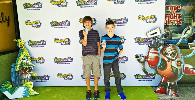 The Grossery Gang Movie Premiere, Totally Putrid Power #GrosseryGangMovie #PutridPower
