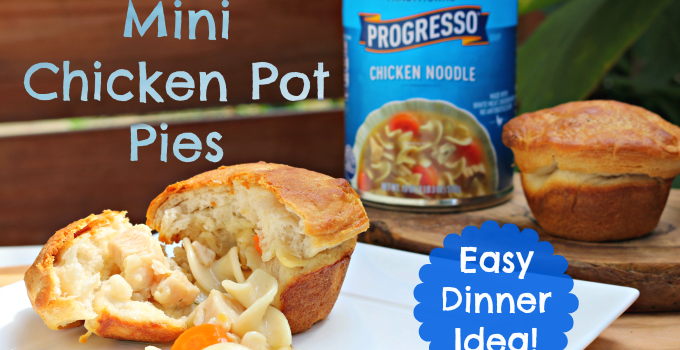 Real Food, Real Fast: Mini Chicken Pot Pies