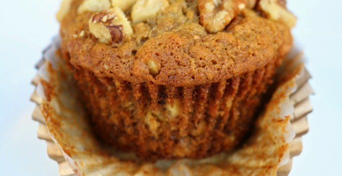 School Breakfast Made Easy: Banana Nut and Raisin Muffins