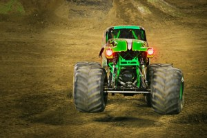 2018 Monster Jam at Angels Stadium in Anaheim