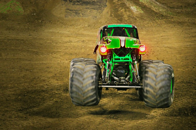 2018 monster jam at angels stadium